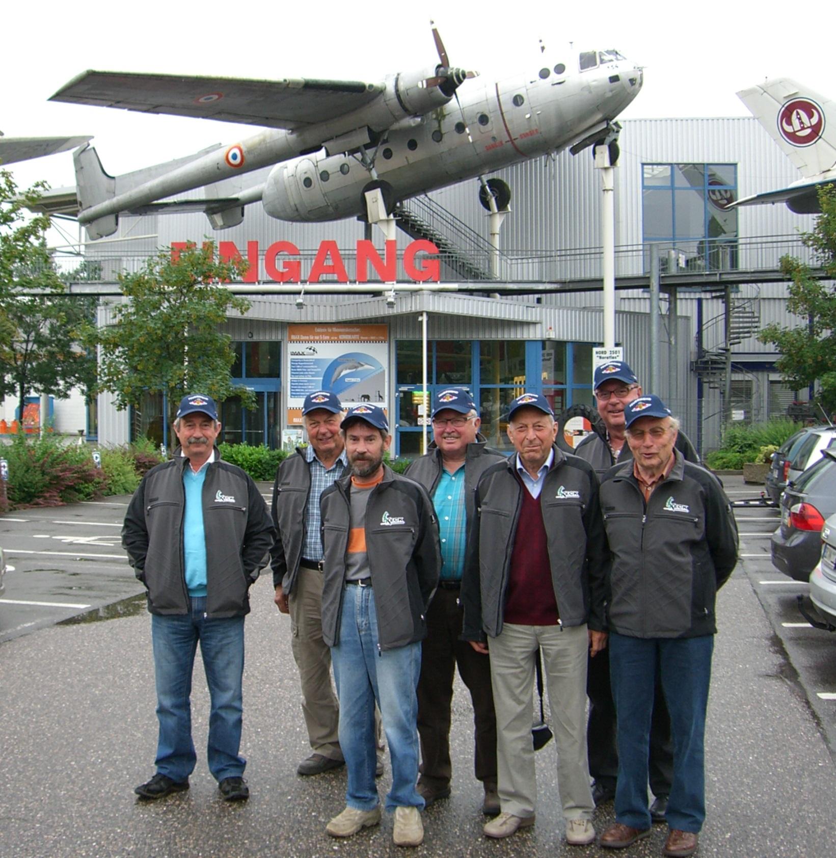 Bild Besuch Altersabteilung Tonbach im Technikmuseum in Speyer
